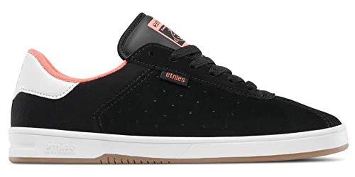 Etnies Womens Scam W's Skate Shoe, Black/Pink, 8.5 Medium US