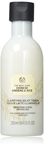 The Body Shop Chinese Ginseng & Rice Clarifying Milky Toner, 8.45 Fluid Ounce