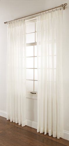 Stylemaster Splendor Pinch Pleated Drapes, 72-Inch by 63-Inch, Beige