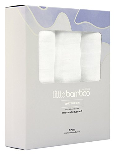 Bambú Pequeños - toallas para bebés en muselina de algodón, 3 piezas.: Amazon.es: Bebé