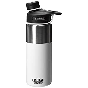 CamelBak Chute Vacuum Insulated Stainless Bottle, White, 40 oz