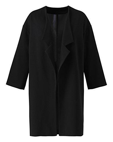 Longline Be Black Jacket Simply Womens zv6wZvq7