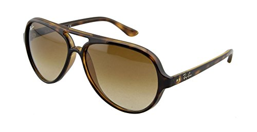 Ray-Ban CATS 5000 - LIGHT HAVANA Frame CRYSTAL BROWN GRADIENT Lenses 59mm Non-Polarized by Ray-Ban