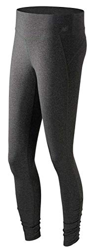 New Balance Women's Premium Performance Tights, Heather Charcoal, X-Small by New Balance (Image #1)