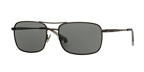 Brooks Brothers 0BB4035S Gunmetal Sunglasses
