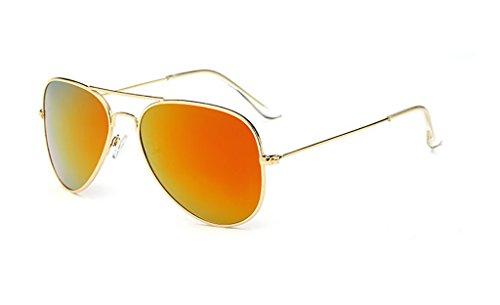 Soleil pour de avec Protection UV400 l'homme 5 en Lunettes métal Cadre Couleur Yxsd de d'aviateur 8 Le EwxWRBBqCn