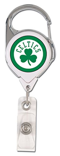 NBA Boston Celtics Premium Badge Reel, domed acrylic decal on both sides by WinCraft