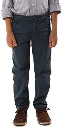 MPL Pantalon Niño Pitillo Largo - Tejido Jacquard de Algodon Caliente para el Frio Invierno Otoño. Ropa de Niños y Niñas. Pantalon para Colegio o Uniforme Escolar