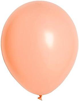 "Solid Pearl Peach Latex Balloons One Dozen 11/"" High Quality"