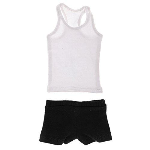 MonkeyJack 1/6 Scale Accessories Mens Vest & Underwear Set for 12in Male Action - Underwear Inch 12 Set