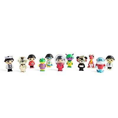 Ryan's World Mystery Microverse Series 1 and Mystery Micro Figure 5-Pack…: Toys & Games