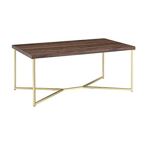 - WE Furniture AZF42LUXDWG Coffe Table, 42