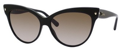 Dior 29A HA Black Mohotani Cats Eyes Sunglasses by Christian Dior