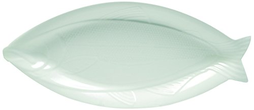 White Basics Collection, Fish Platter, Large, White