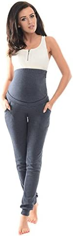Purpless Maternity Pregnancy Over Bump Joggers Trousers Pants Pregnant Women 1307