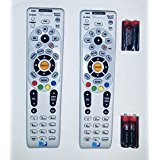 DIRECTV RC66RX RF Universal Remote Controls with Batteries, Set of 2