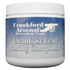 Frankford Arsenal 1 lb Tub of CleanCast Lead Flux for Case Casting for Reloading (Best Lead Alloy For Bullets)