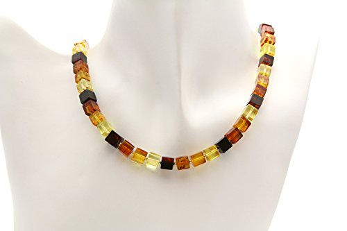 (Genuine Natural Baltic Amber Necklace