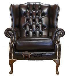 Designer Sofas4u Chesterfield Mallory Plano Wing Queen Anne ...