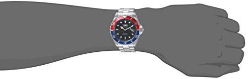 Invicta Men's 'Pro Diver' Quartz Stainless Steel Diving Watch, Color:Silver-Toned (Model: 23384)