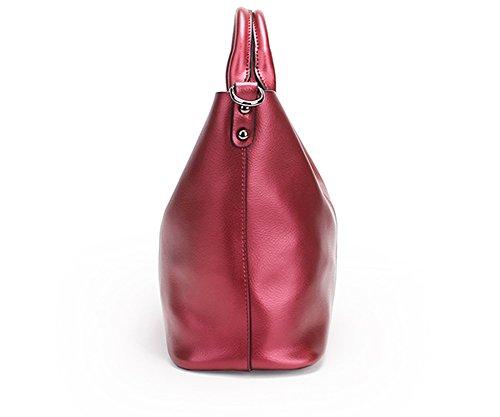 en portés femme Sac Sac Bordeaux Valin à portés fashion épaule cuir main LF 8683 main Sac wCvqSY