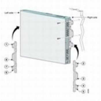 Cisco Wall Mount Kit - Cisco Syst. UNIVERSAL LOCKING WALLMOUNT KIT ( CP-LCKNGWALLMNT2= )