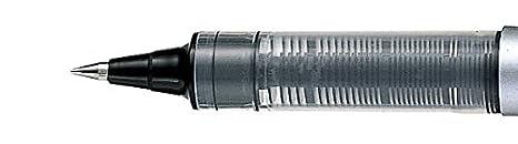 Penna rollerball UB-150 Eye Micro scatola da 12 pezzi inchiostro nero Uni-ball Super Ink pennino da 0,5 mm