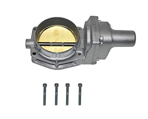 A-Team Performance Throttle Body Drive By Wire 4 Bolt Compatible with Chevy GM LSX LS LS1 LS2 LS3 LS6 LS7 Silver 92mm