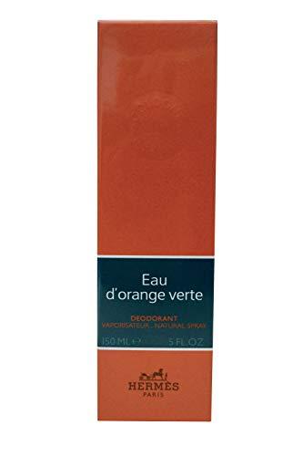 Hermes Eau D'Orange Verte Deodorant Spray for Men, 5 Ounce