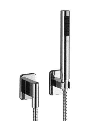 (Dornbracht 27808710-00 Lulu Wall Mounted Hand Shower Set In Polished )