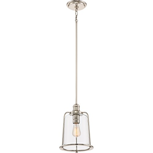 - Quoizel QPP2051IS One Light Mini Pendant, Small, Imperial Silver