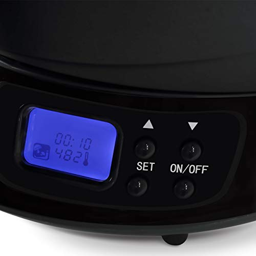 Della 048-DL900-BK 9 in 1 Air Fryer Multicooker Halogen Powered LED Vertical Rotisserie, One Size Black by Della (Image #3)