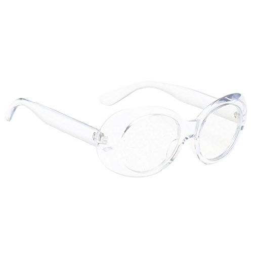 UV400 de Sharplace Libre se como amarillo Deporte clara de Estilo Marco de Plástico al NON describe Aire Sol claro para Gafas Conducción Protección Mujer Lente marco Hombre marco amarilla Retro Lente 4PwxHqIdH
