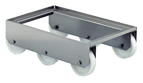 Rodillo bandejas de acero inoxidable industrial 6 ruedas ...