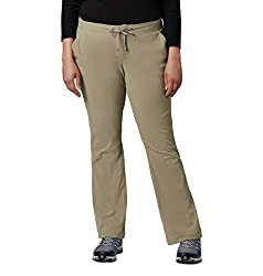 Columbia Women's Anytime Outdoor Boot Cut Pant, Water and Stain Repellent