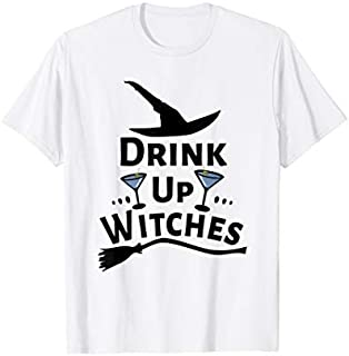 Drink Up Witches Halloween Drinking Gift T-shirt | Size S - 5XL