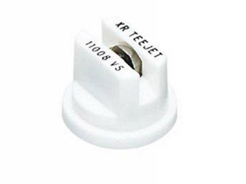 TeeJet XR11008VS Extended Range Spray Tip, 0.48-0.98 GPM, 15-40 psi, Stainless Steel - White ()