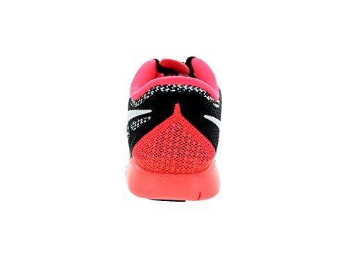 Nike  Free 5.0 (Gs) - Zapatillas para niñas Black/White/Hyper Punch