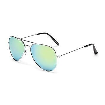 ZHANGYUSEN Bas Prix Fashion Lunettes de Soleil Pilote Sunglasses Lunettes  UV multicolore400,10 Glassaviator 824276a17eb3