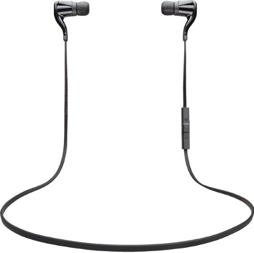 Plantronics BackBeat GO Bluetooth Wireless Stereo Headset, Retail, Black, 86800-03