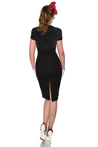 Stil Vintage Pin Kleid Atixo im schwarz Up x6BXWqvfw