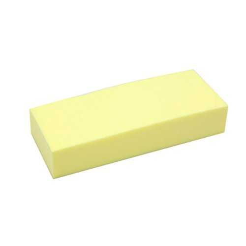 uxcell a17032300ux0924 1 Pack Yellow PVA Suction Sponge Foam Block Multipurpose Cleaner Tool for Auto Car
