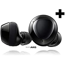 Samsung Galaxy Buds+ Plus, True Wireless Earbuds w/improved battery and call quality (Wireless Charging Case included), Black – US Version (Renewed)