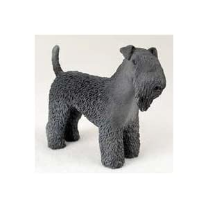 Kerry Blue Terrier Dog Figurine by Conversation Concepts 35