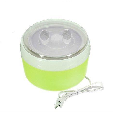 New Arrival 1.2 L Automatic Yogurt Maker Electric Buttermilk Sour Cream Making Machine Rice Wine + Natto Maker (Green) (Ice 240v Cream Maker)