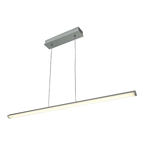 (Access Lighting 63963LED-SILV/ACR Float LED 36-Inch Width Pendant with Acrylic Lens,)