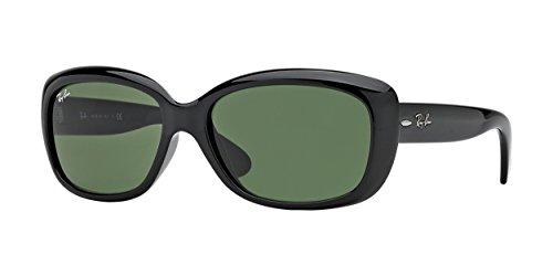 Ray-Ban Sunglasses - RB4101 Jackie Ohh / Frame: Black Lens: Crystal Green