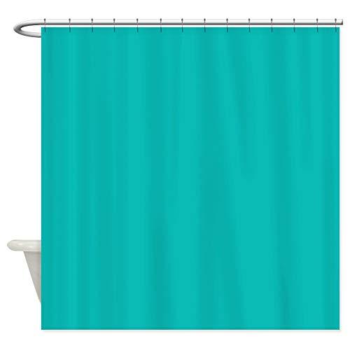 (CafePress Tiffany Blue Decorative Fabric Shower Curtain (69