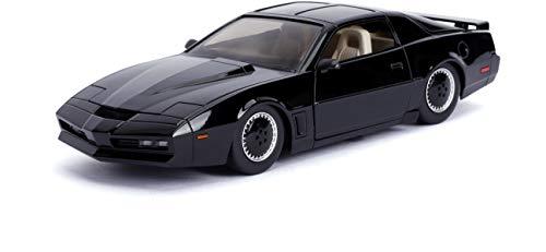 Jada 1: 24 Hollywood Rides Knight Rider KITT with Light Pontiac Firebird 30086, Black (24 Car 1)