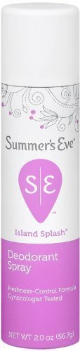 SUMMER'S EVE Feminine Deodorant Spray-Island Splash-2 oz, 2 pk by Summer's Eve